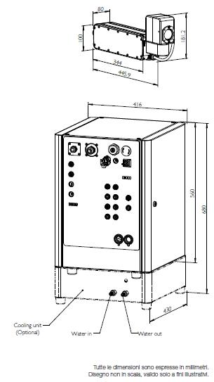 Caratteristiche Tecniche Marcatore Laser Domino F720i