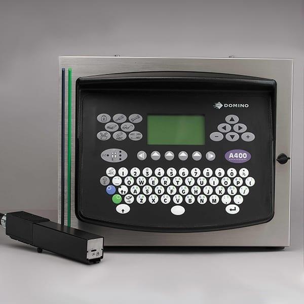 Marcatore Inkjet a goccia deflessa Domino A400 CP Triple CP