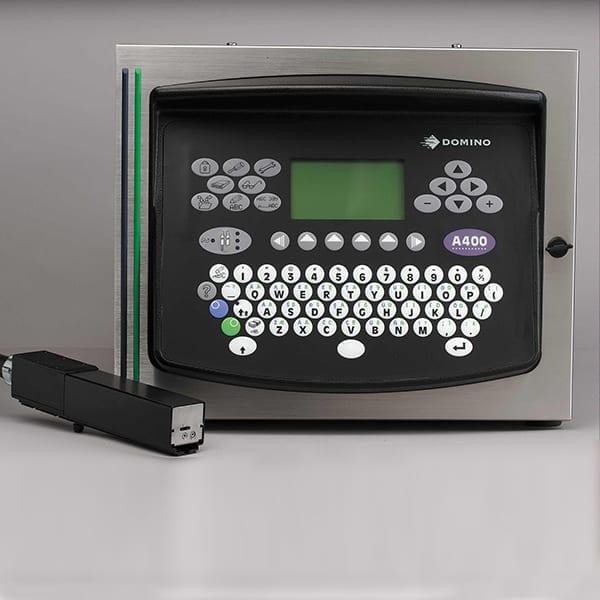 Marcatore Inkjet a goccia deflessa Domino A400 CP Twin CP