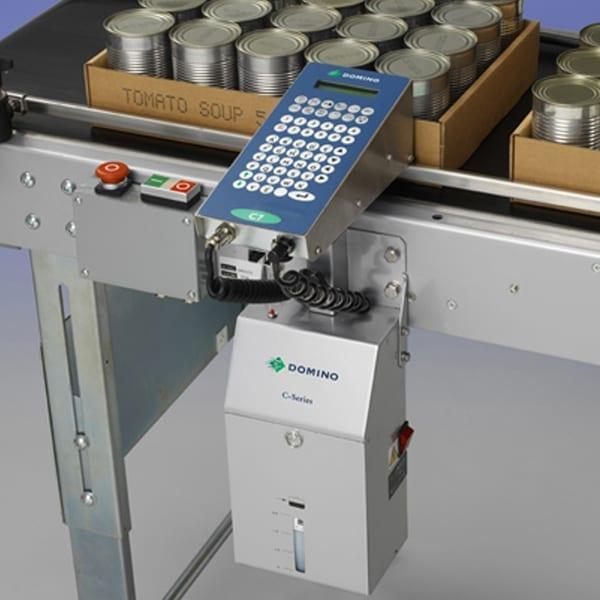 Marcatura su cartoni - Marcatore industriale Domino C16 - Imballo Secondario - Packaging Secondario