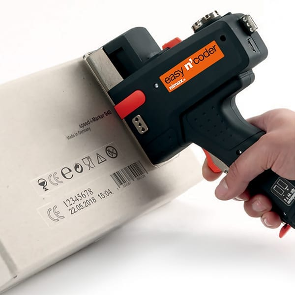 Marcatura - Stampante a getto d'inchiostro mobile Easy n'coder 940 pistola inkjet