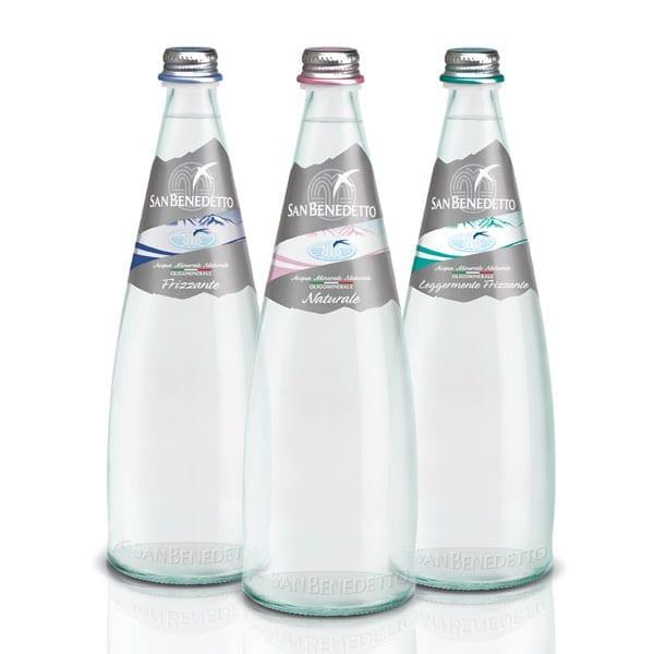 Rotazione bottiglie in vetro
