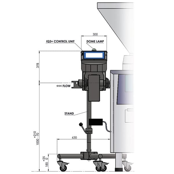 Sistema Metal Detector Loma Iq4 Pipeline - Caratteristiche teniche