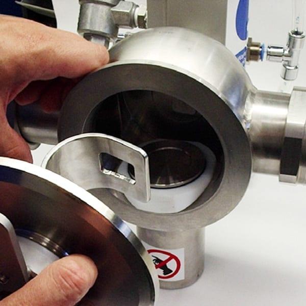 Sistema Metal Detector Loma Iq4 Pipeline Scarto prodotto