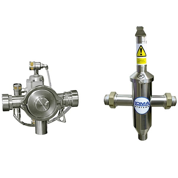 Sistema Metal Detector Loma Iq4 Pipeline - Scarto prodotto