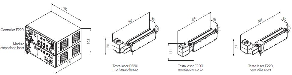 Specifiche Tecniche Marcatore Laser Domino F220i