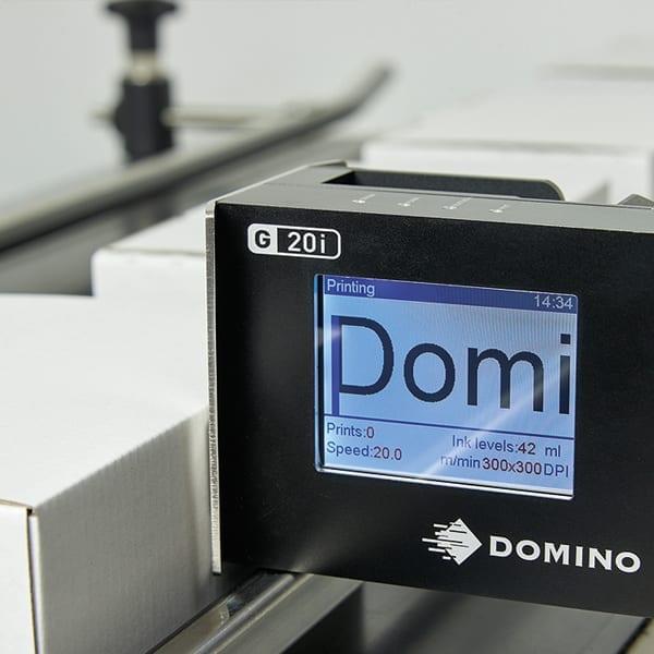 Stampa Marcatore a getto termico di inchiostro Domino G20i