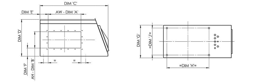 Testata Metal Detector Loma Iq4 - Caratteristiche Tecniche Dimensioni