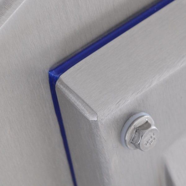 Testata Metal Detector Loma Iq4 - Scocca in acciaio inox