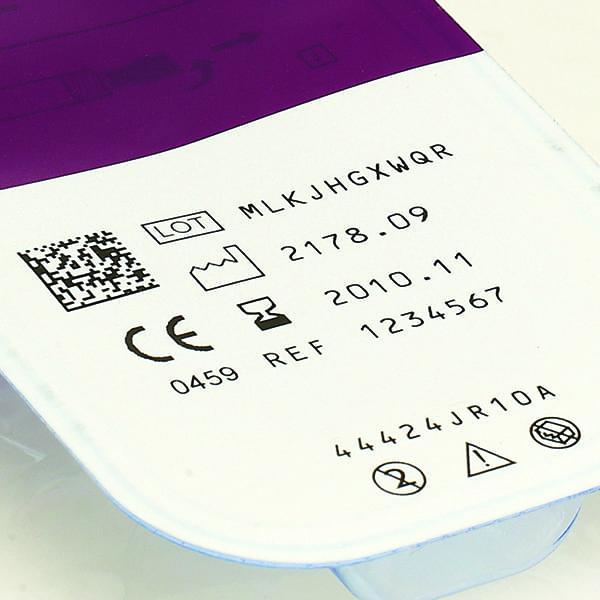 Marcatura blister - Marcatore a Trasferimento Termico Domino V320i