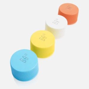 Codifica e Marcatura stampa su bottiglie in plastica tappi acque minerali