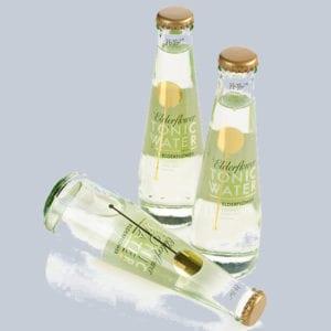 Stampa su bottiglie in vetro bevande non alcoliche