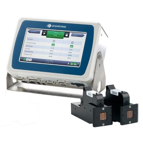 Marcatore Thermal Inkjet Domino Gx150i 2 Teste di Stampa - Serie Gx Domino