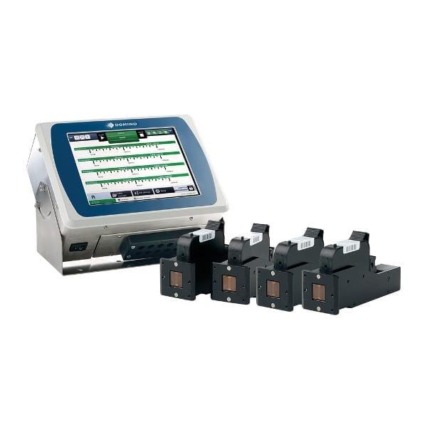 Marcatore Thermal Inkjet Domino Gx350i 4 Teste di Stampa