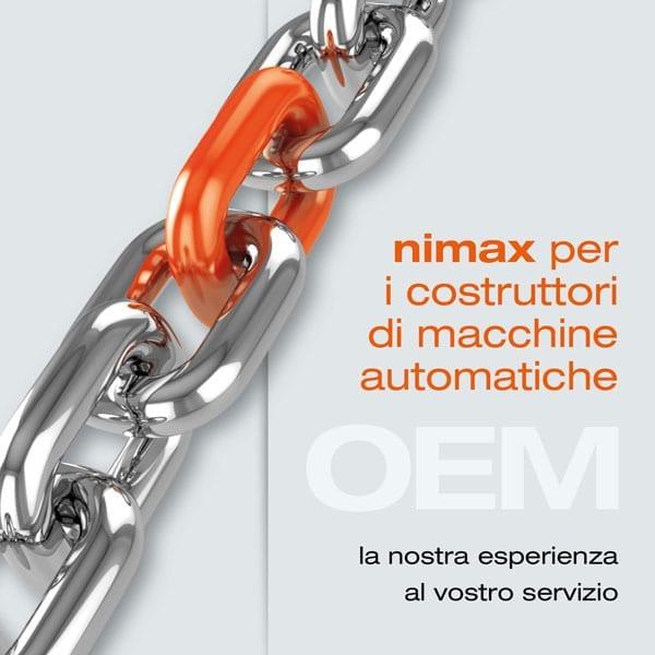 nimax for oem costruttori macchine automatiche