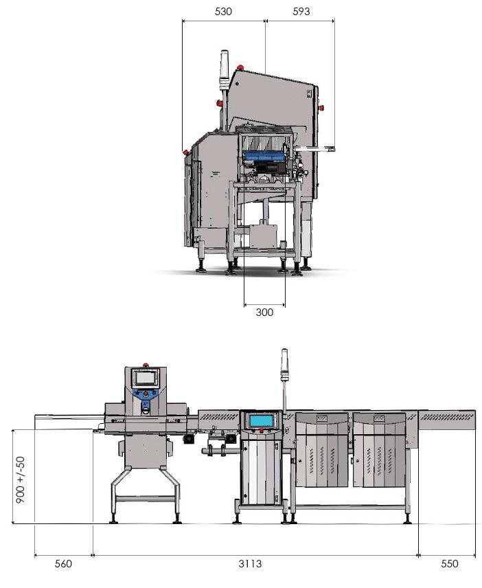 Sistema Combinato CW3 X5C